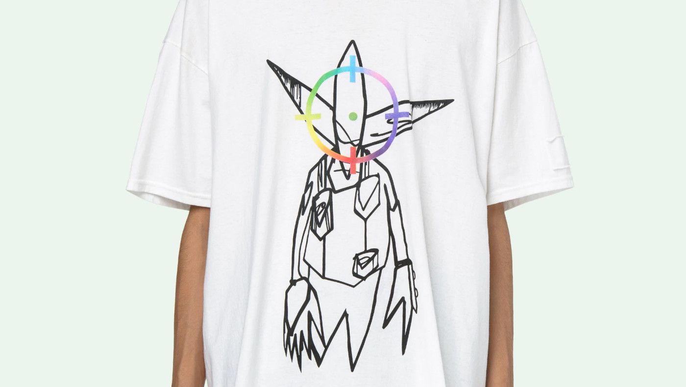 Pointman Off White Futura T shirt
