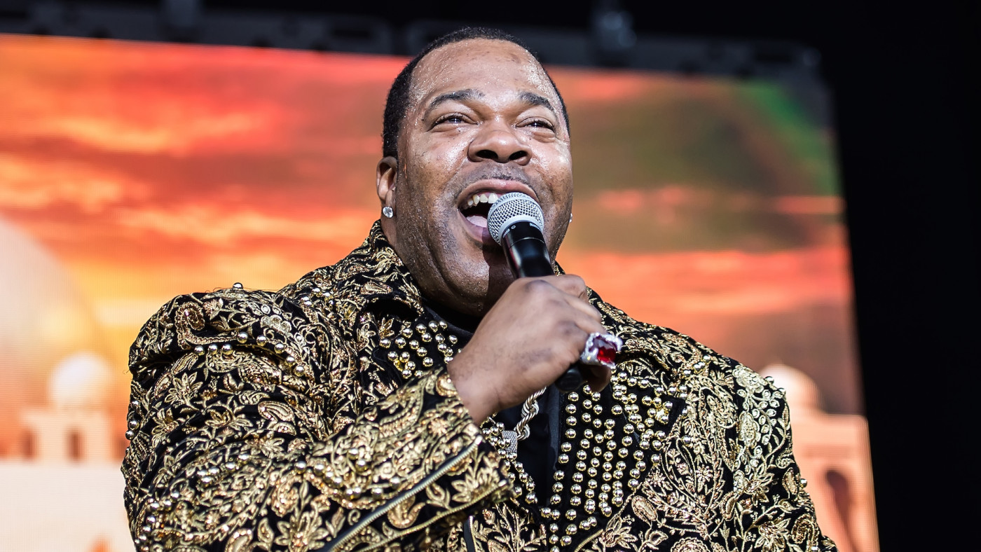 Busta Rhymes performs during The Miseducation of Lauryn Hill 20th Anniversary Tour