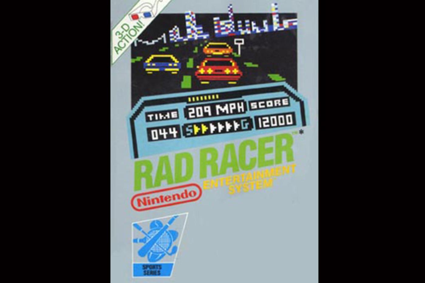 best-old-school-nintendo-games-rad-racer