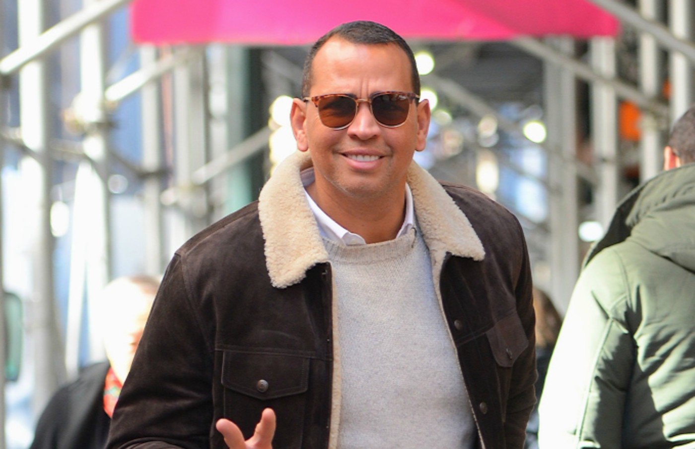 Alex Rodriguez seen out and about in Manhattan