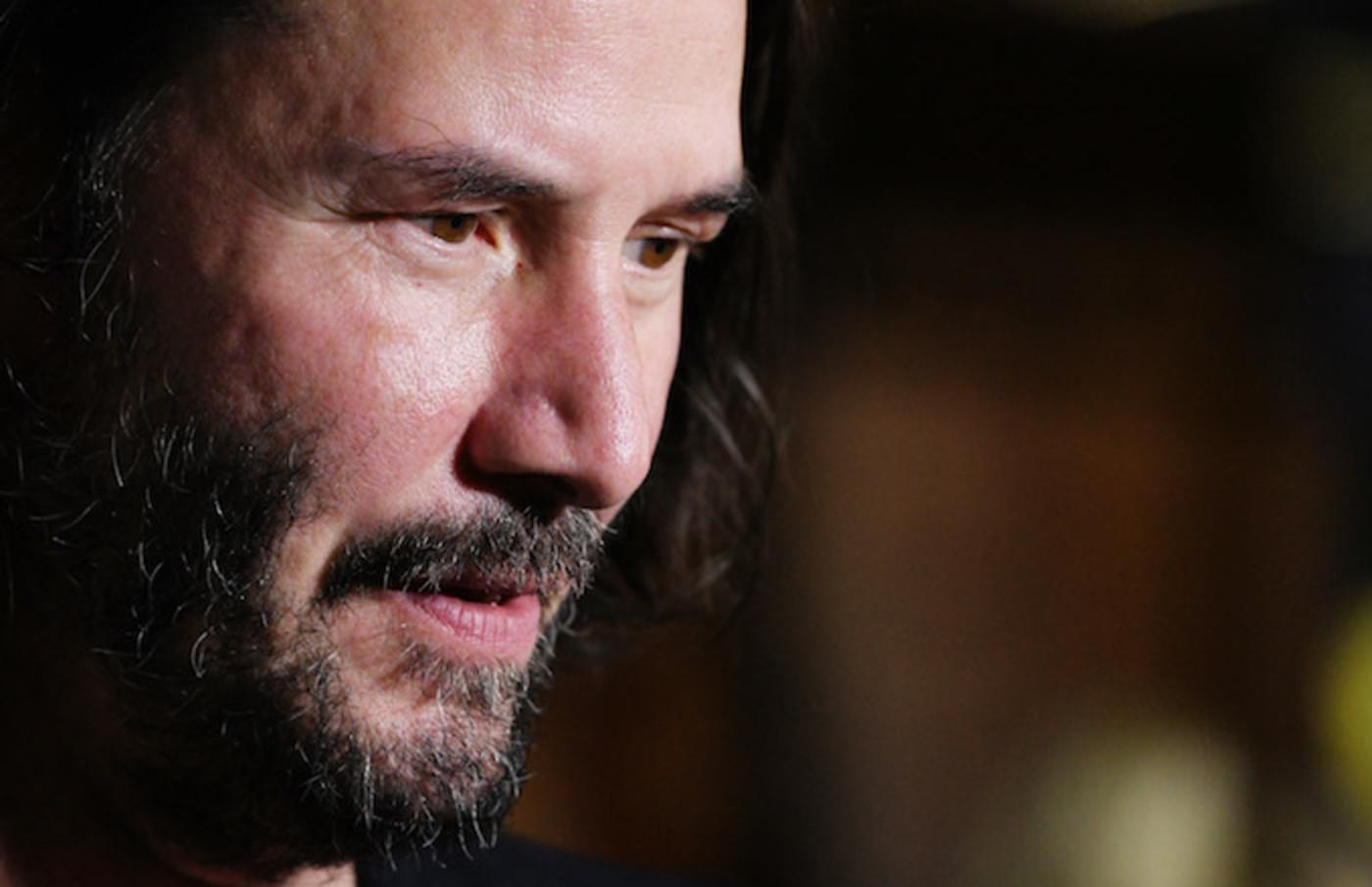 "Keanu Reeves attends Los Angeles Special Screening of ""Semper Fi."""