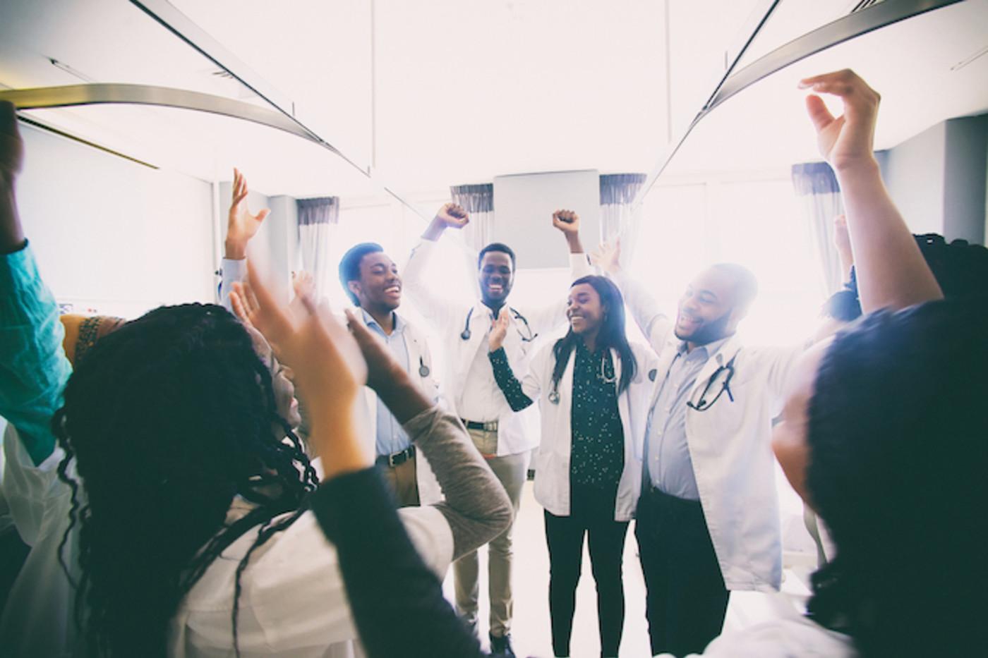 black medical students