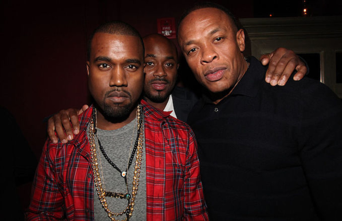 Kanye and Dr. Dre