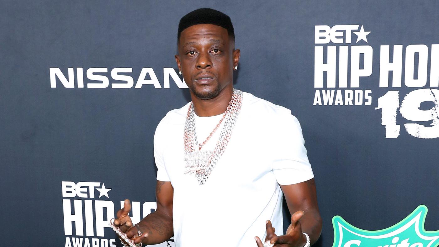Boosie Badazz attends the BET Hip Hop Awards 2019