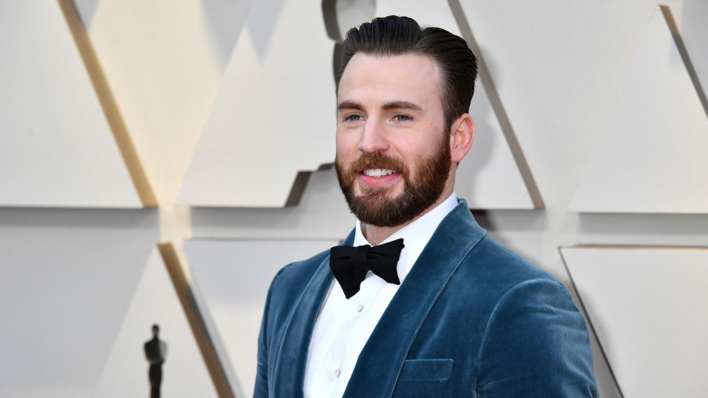Chris Evans attends the 91st Annual Academy Awards.