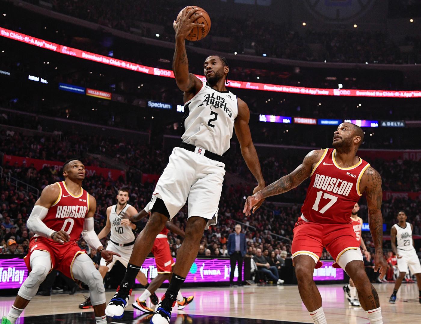 Kawhi Leonard Rockets Clippers Nov 2019