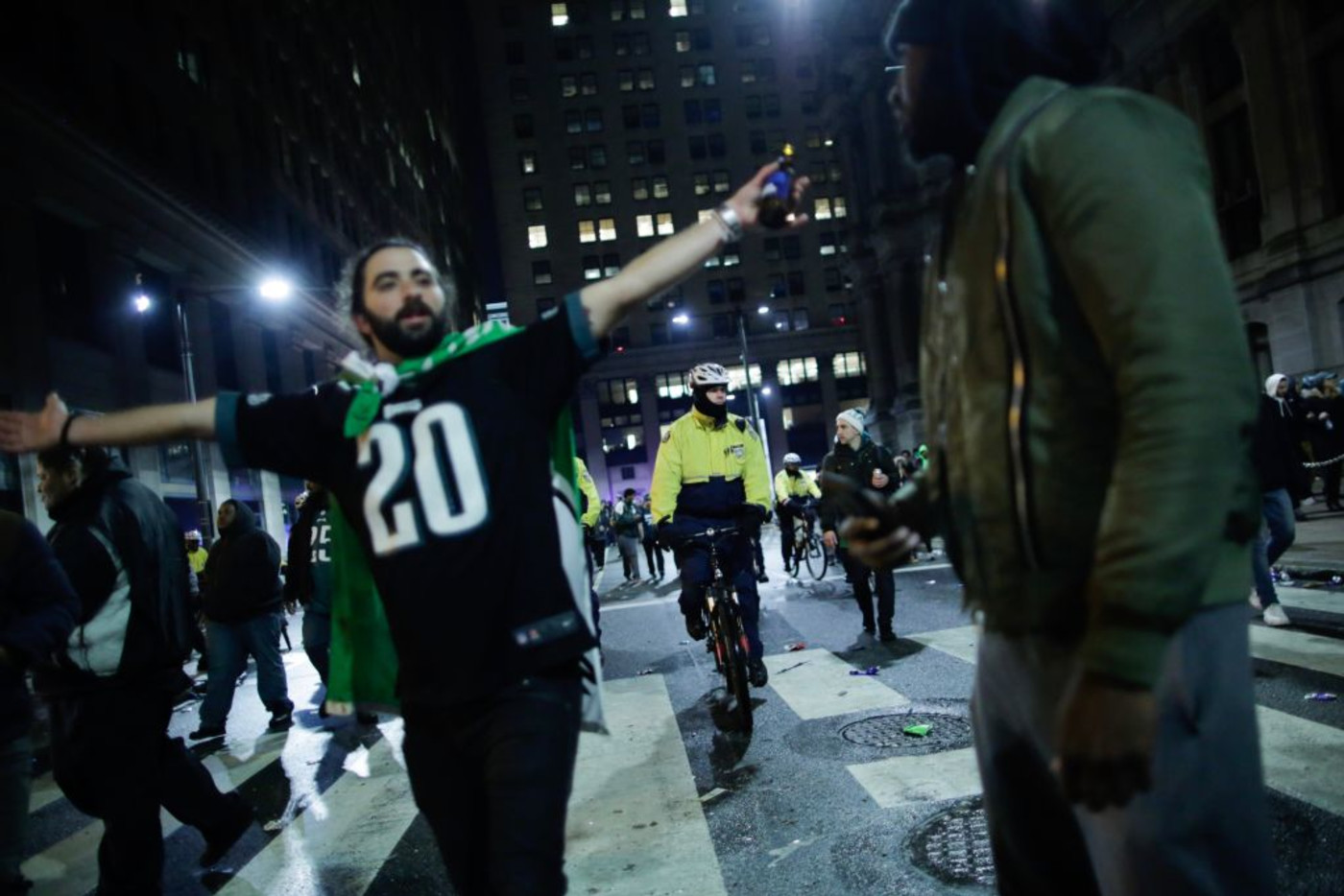 Philadelphia Eagles Fans Super Bowl 2018