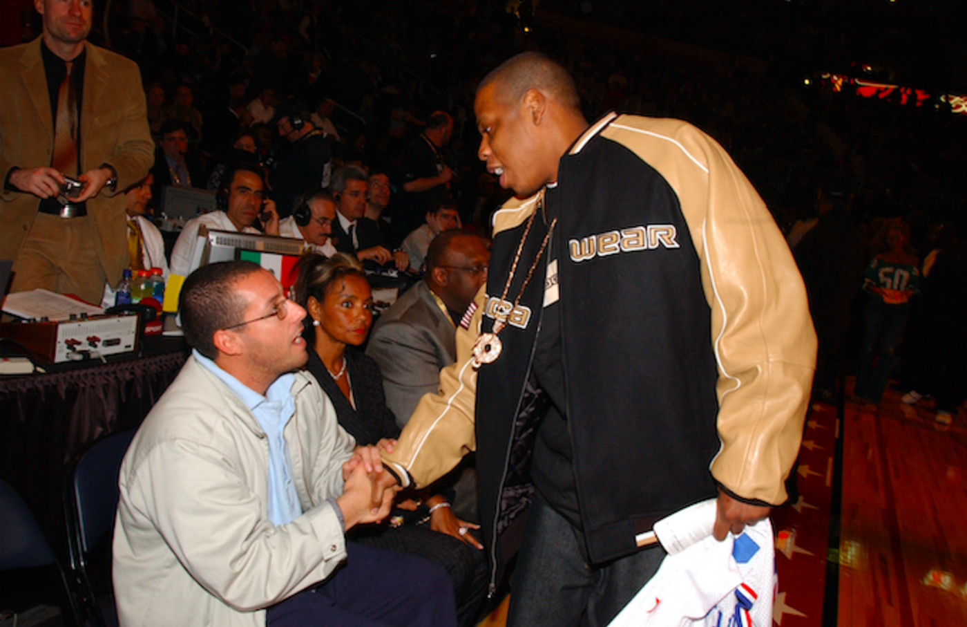 JAY-Z and Adam Sandler