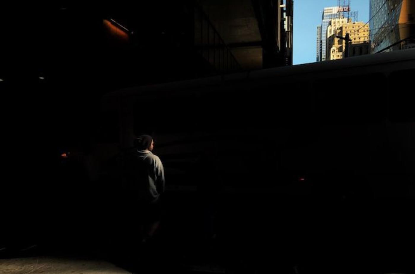shadow-man-new-york