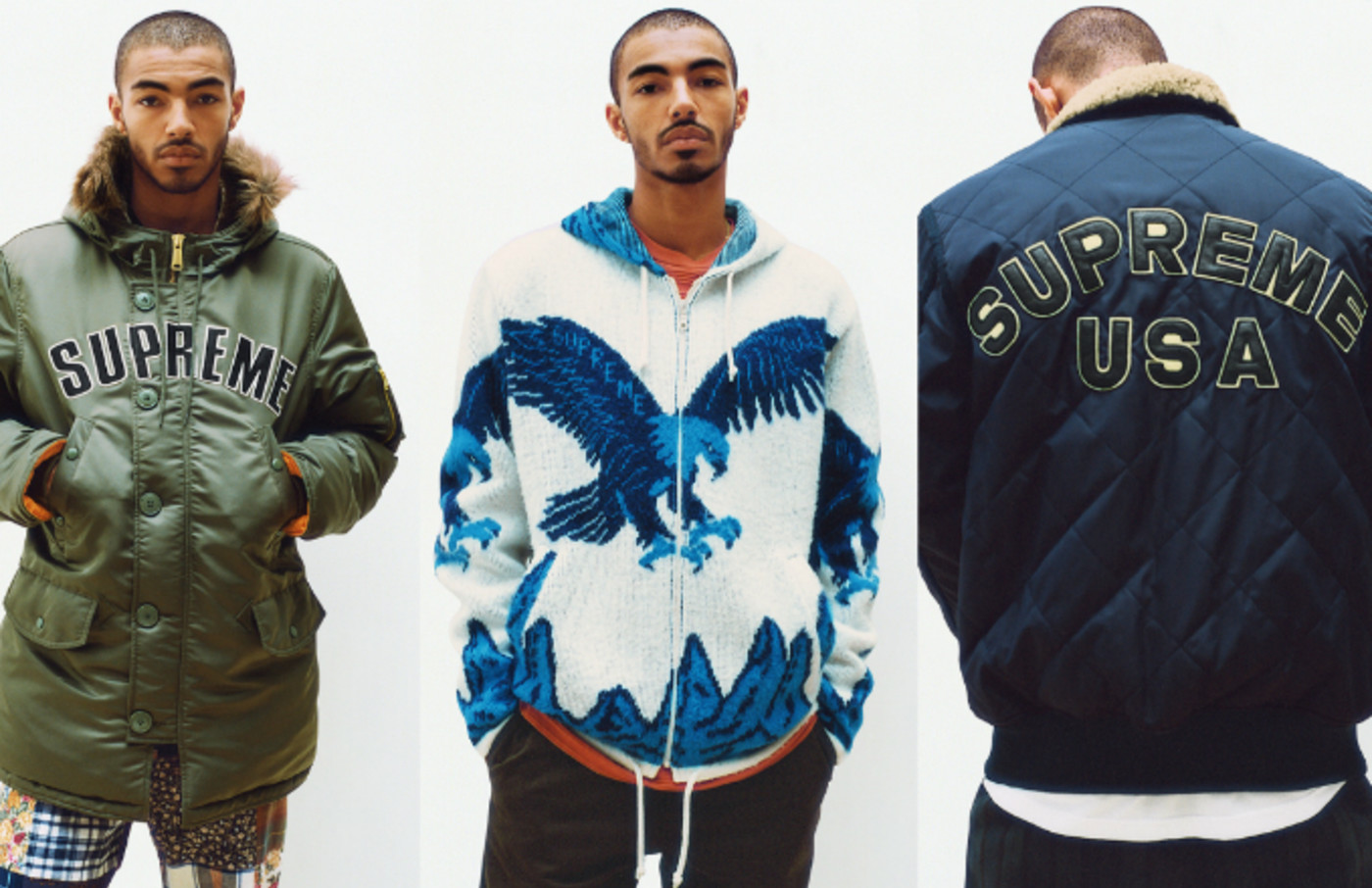 Supreme's Fall Winter 2016 lookbook