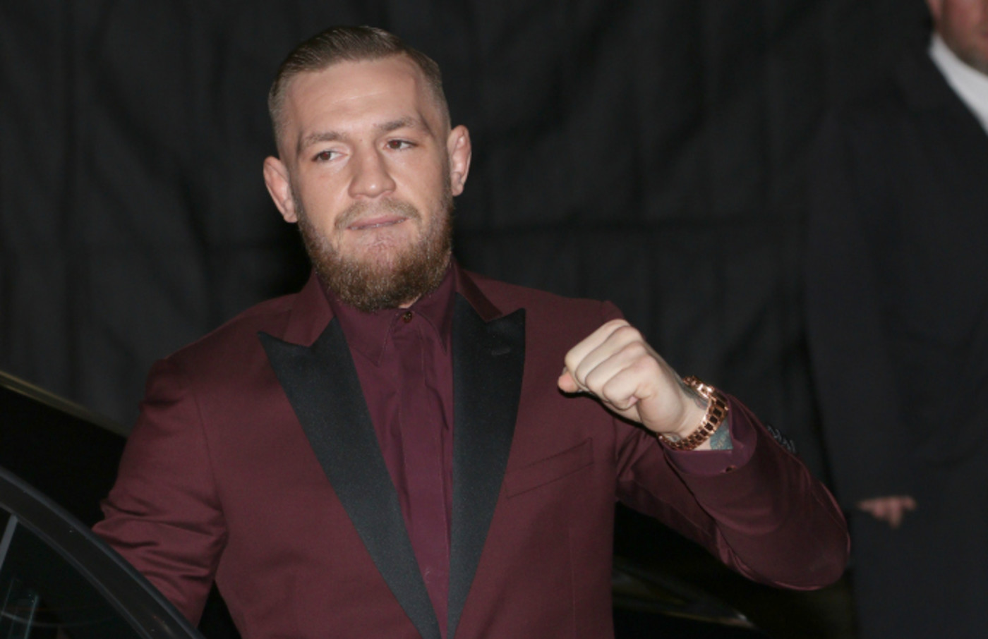 Conor McGregor attending The British Fashion Awards