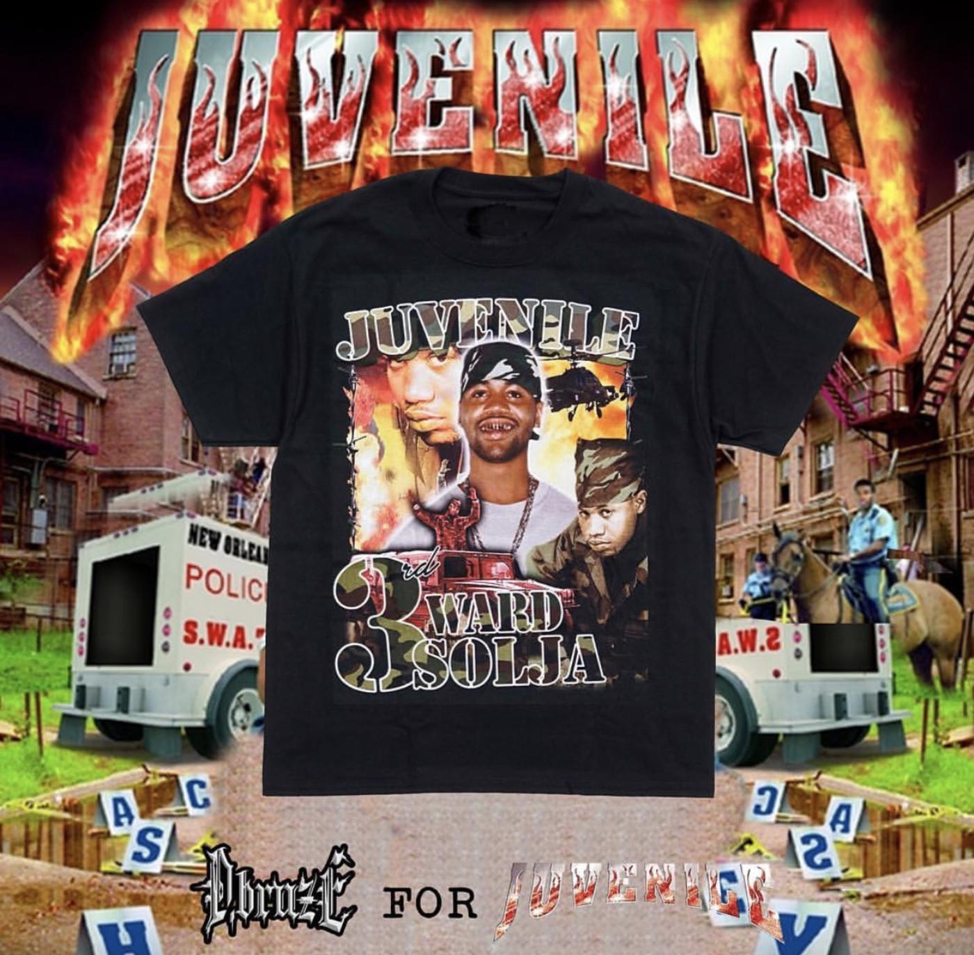 Juvenile P&P T-shirt by D Bruze
