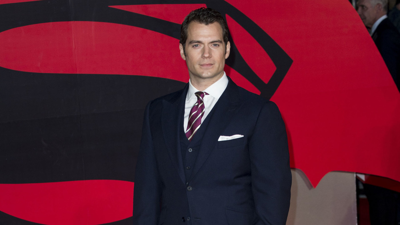 Henry Cavill arrives for the European Premiere of 'Batman V Superman: Dawn Of Justice.'