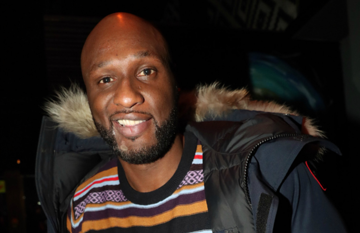 Lamar Odom attends RAYVYN In Concert at S.O.B.'s
