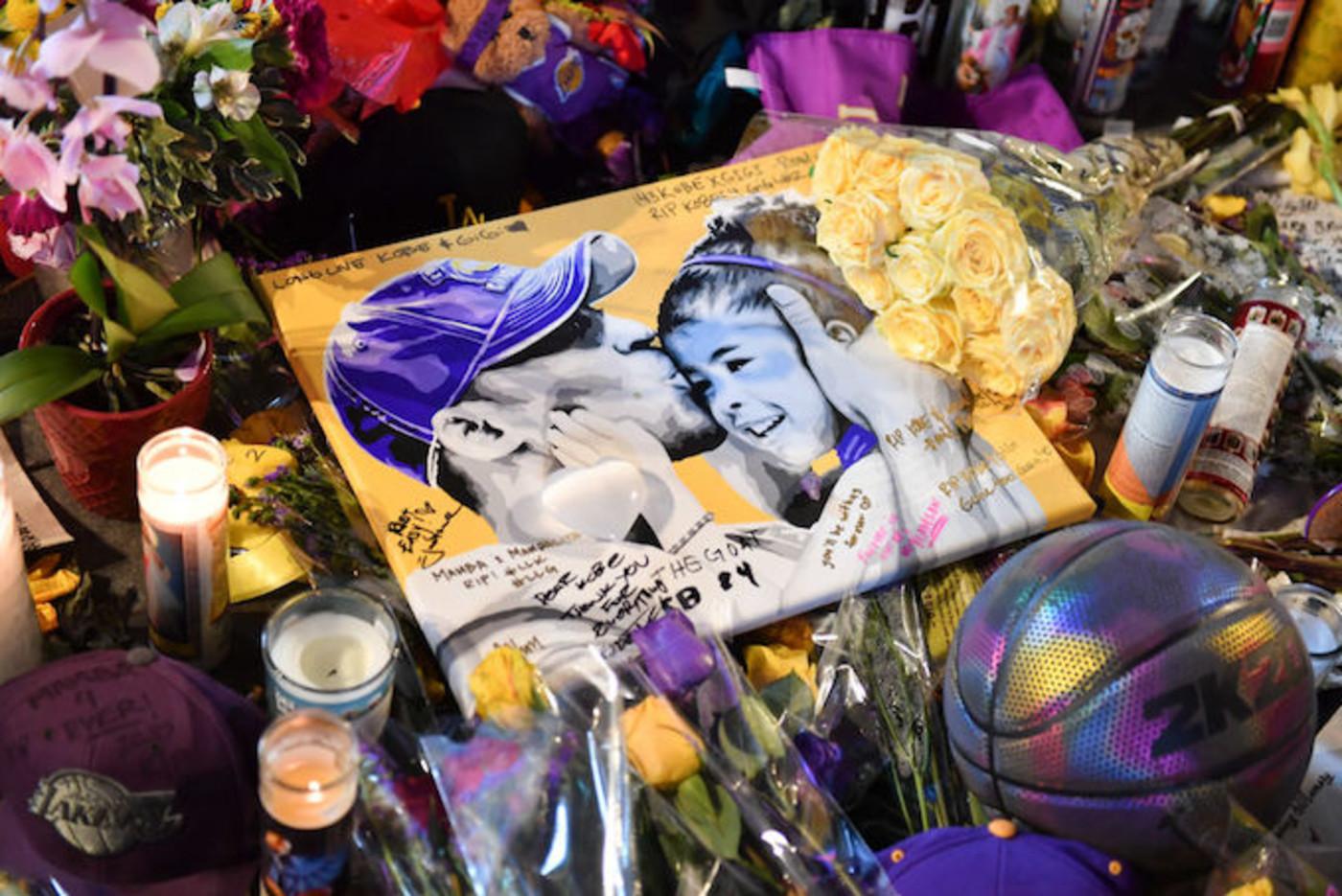 Kobe and Gianna Bryant memorial
