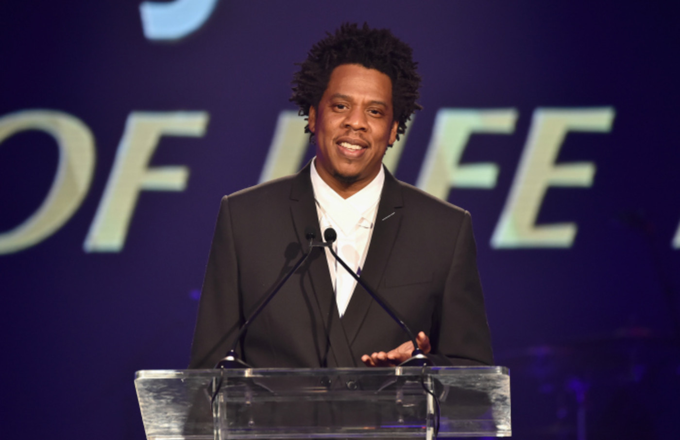 Jay-Z speaks onstage during the City of Hope Spirit of Life Gala