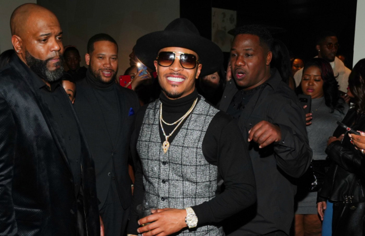 T.I. attends Official Big Game Kick Off Hosted by Trey Songz + Jeezy