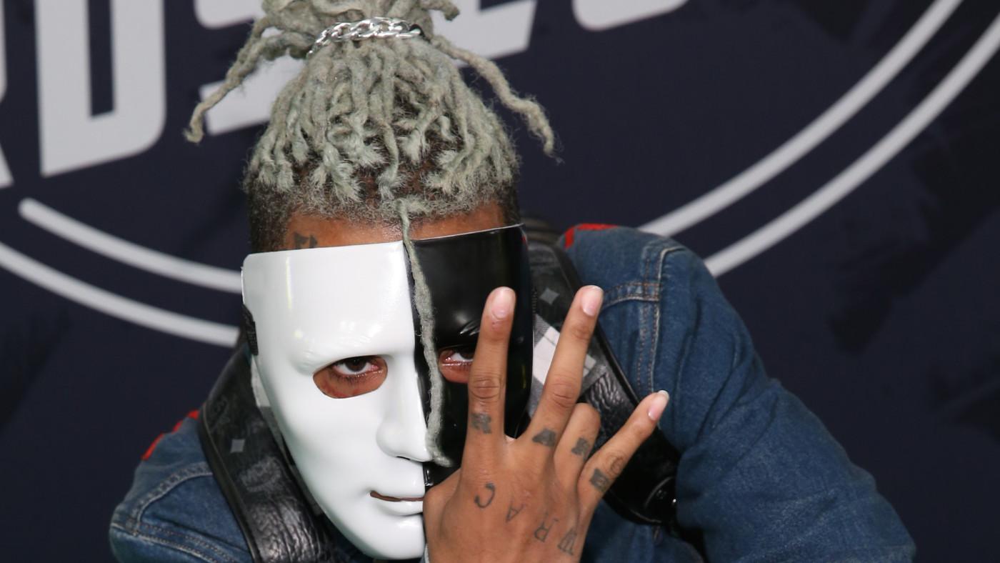 Rapper XXXTentacion attends the BET Hip Hop Awards
