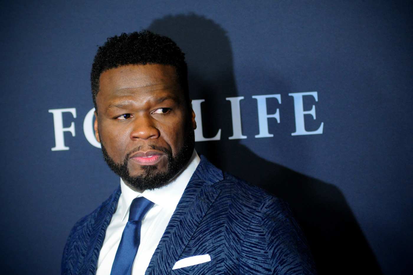 """50 Cent (Curtis Jackson) attends the """"For Life"""" TV Series Premiere."""