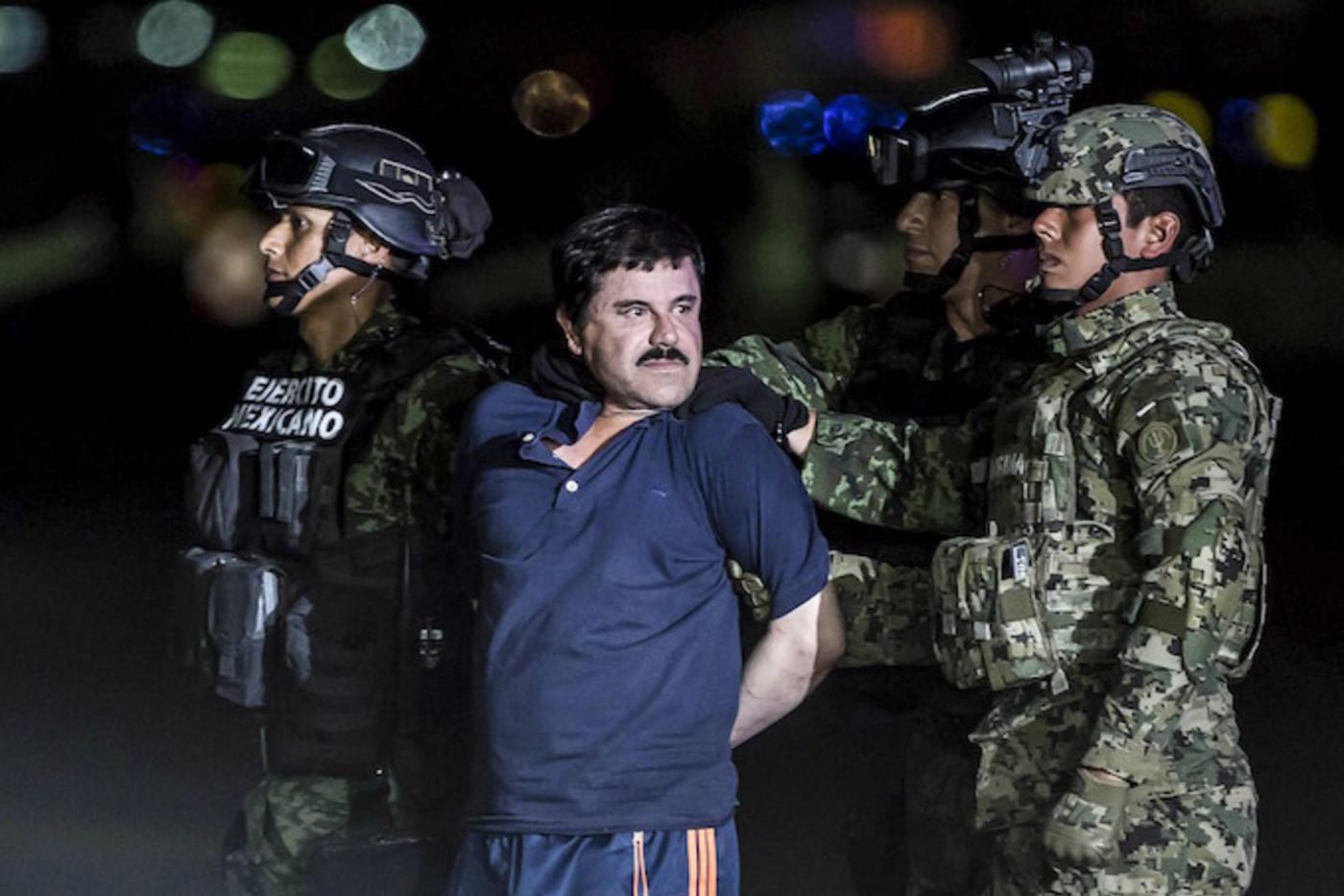 El Chapo arrested in Mexico City