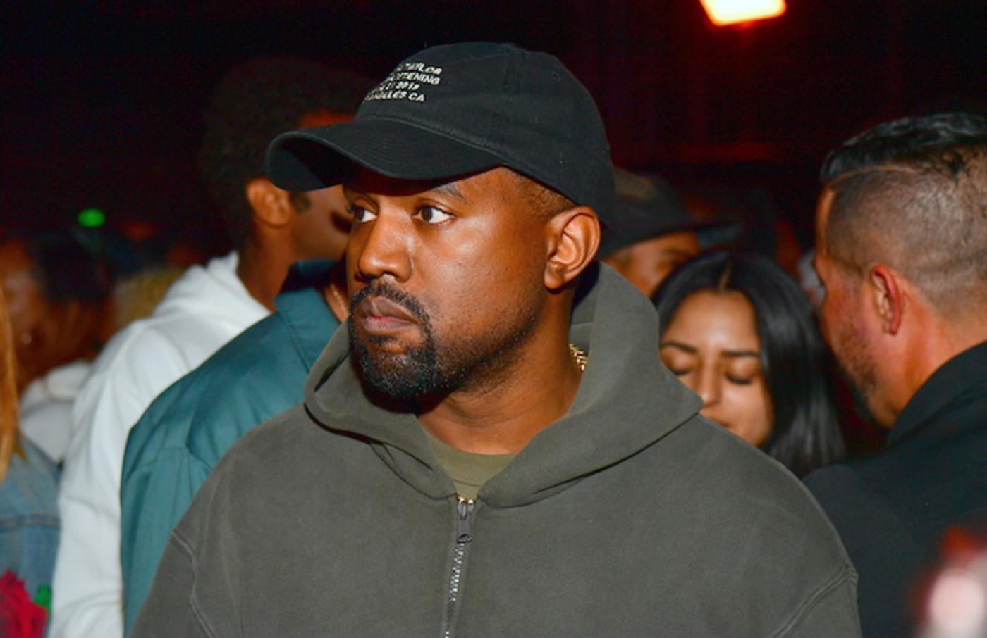 Kanye in LA