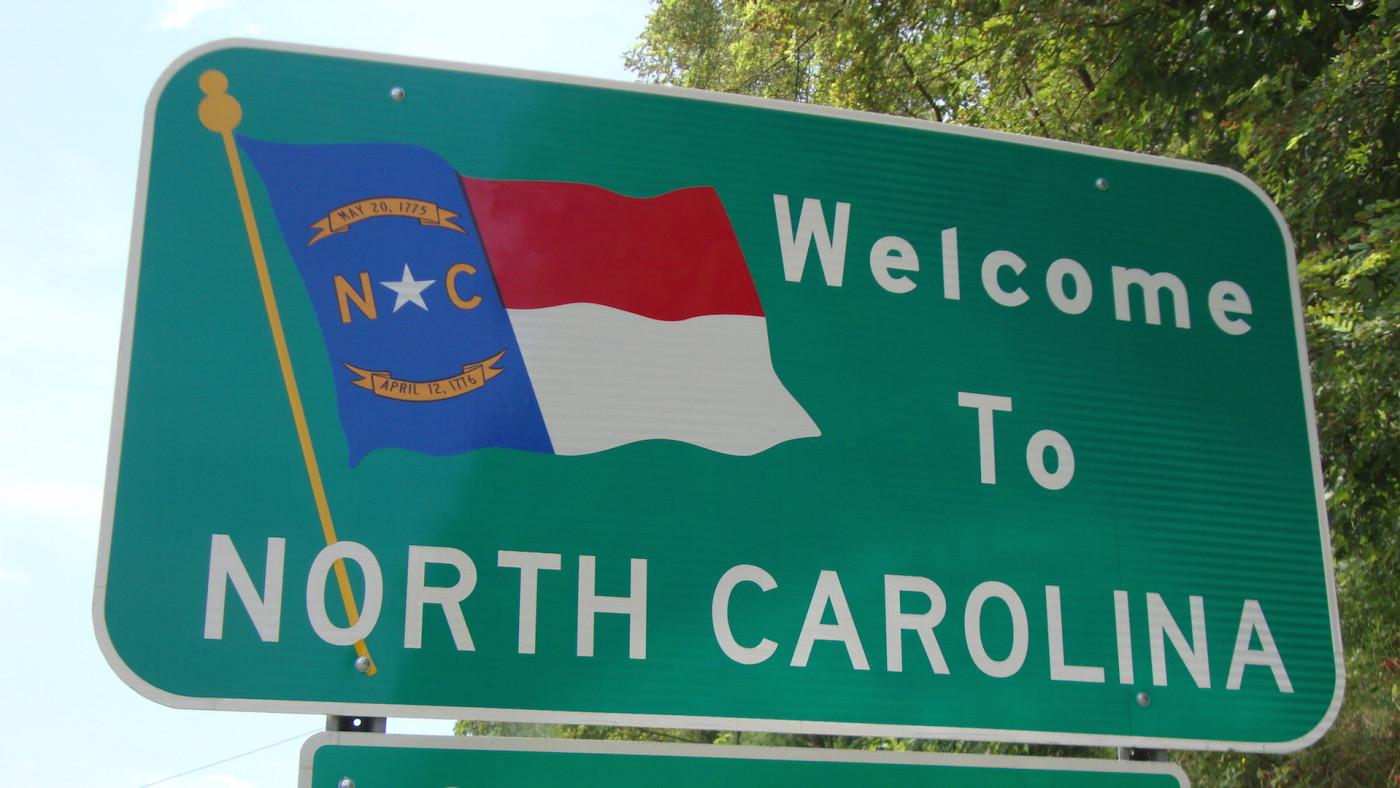 As seen between Independence, Virginia and Sparta, North Carolina