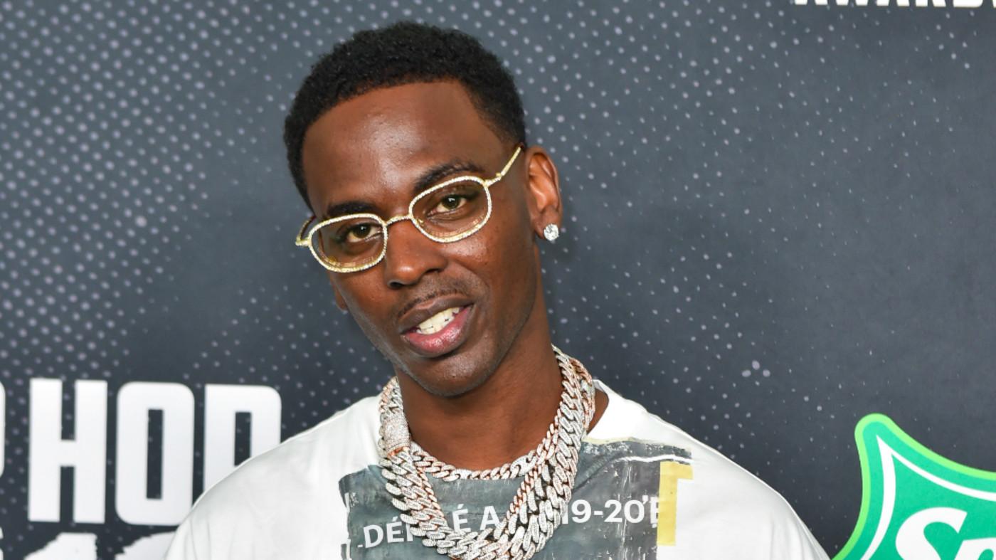 Rapper Young Dolph arrives to the 2019 BET Hip Hop Awards
