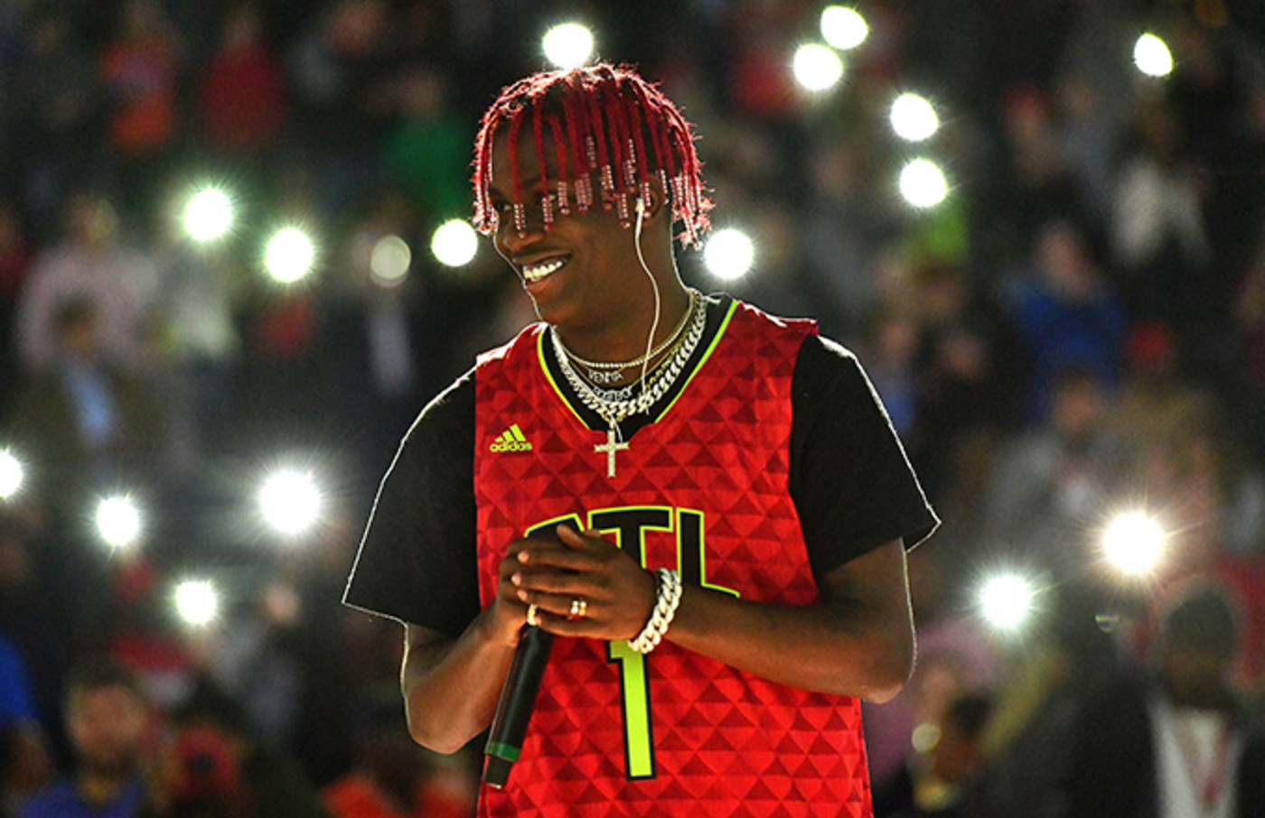 This is a photo of Lil Yachty.