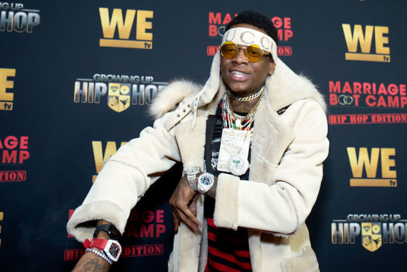 This is a picture of Soulja Boy.