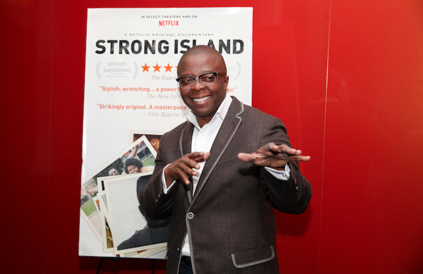 Yance Ford at a special screening of 'Strong Island.'