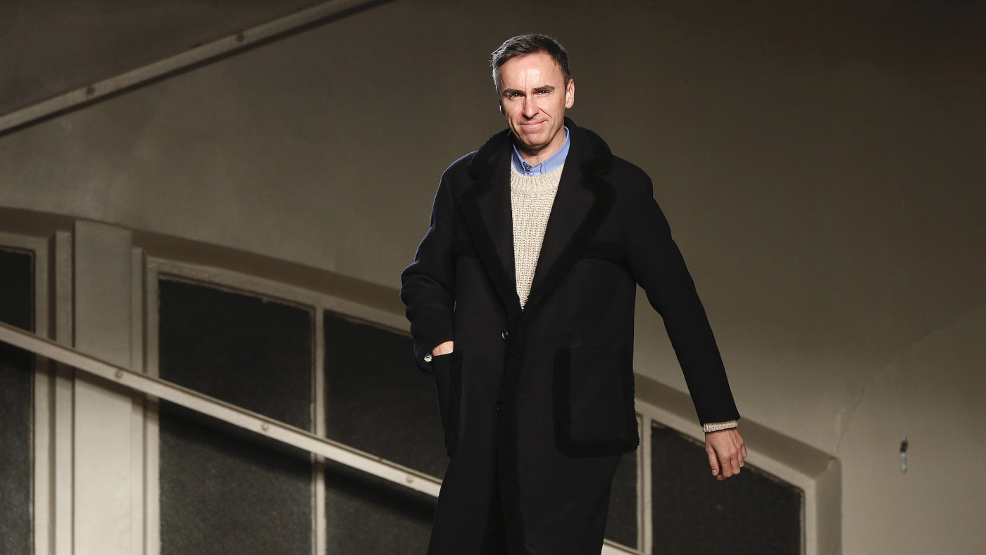 Raf Simons What To Know About The Fashion Designer Complex