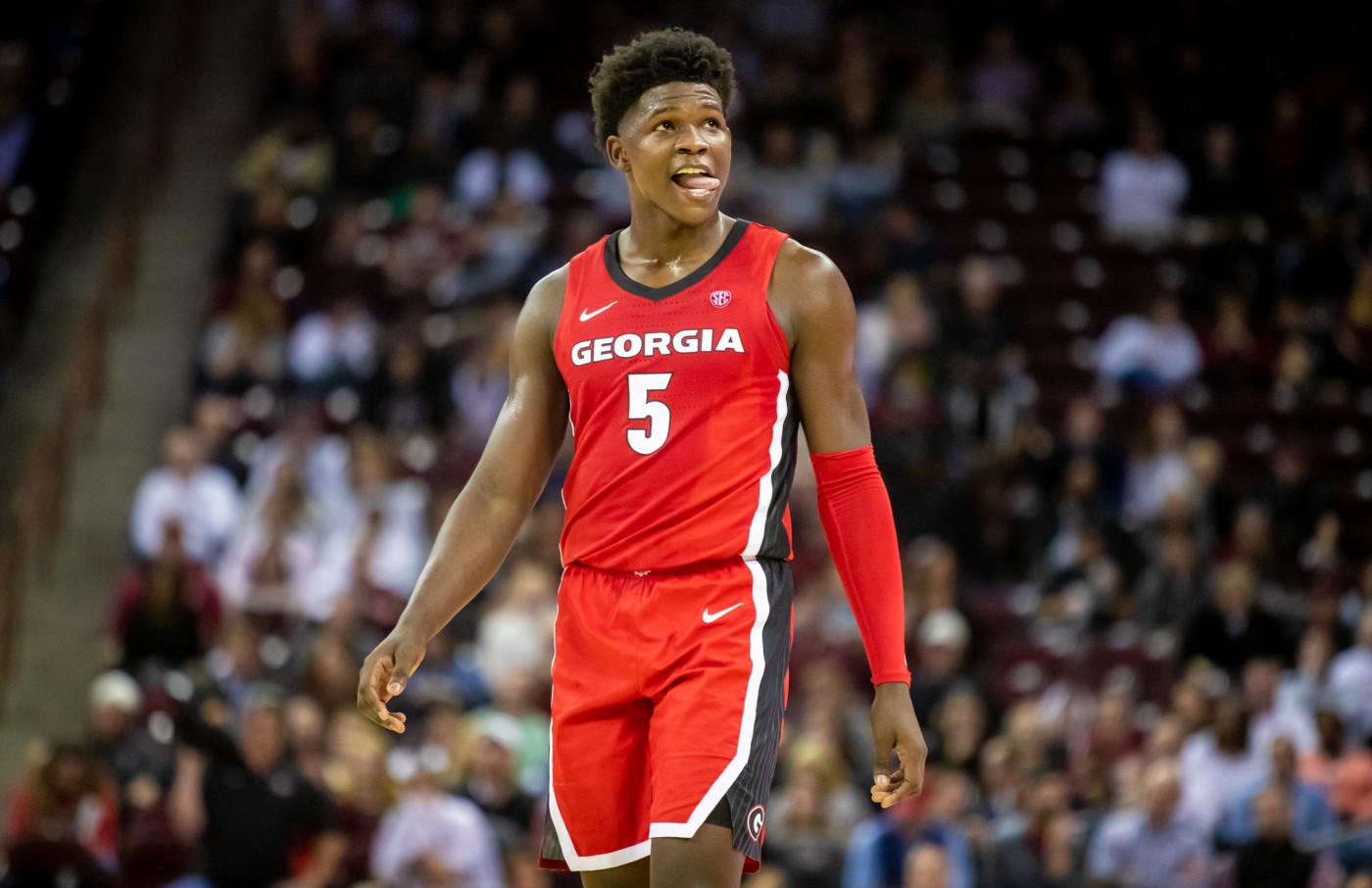 Anthony Edwards Georgia South Carolina 2020