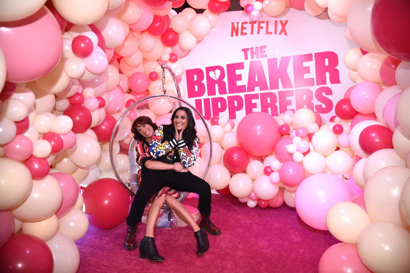 Jackie van Beek and Madeleine Sami of 'The Breaker Upperers'