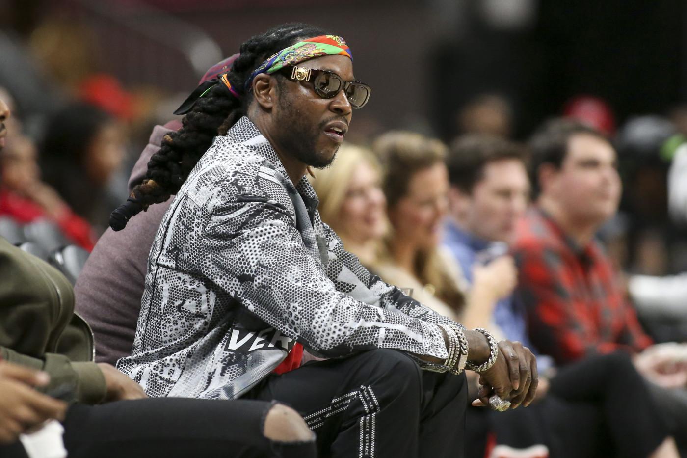 2 Chainz Atlanta Hawks Courtside 2018