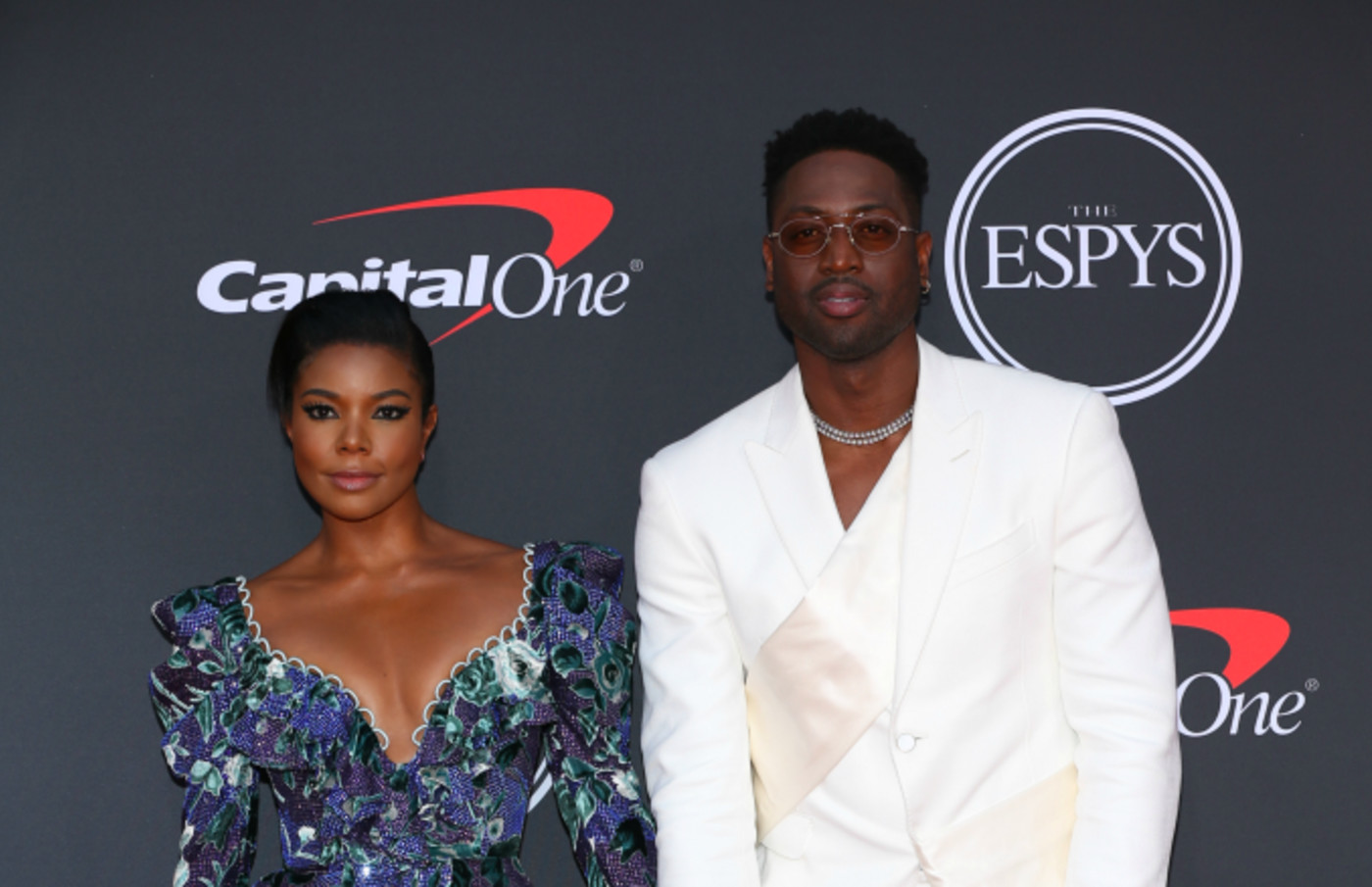 Gabrielle Union and Dwyane Wade attend The 2019 ESPYs