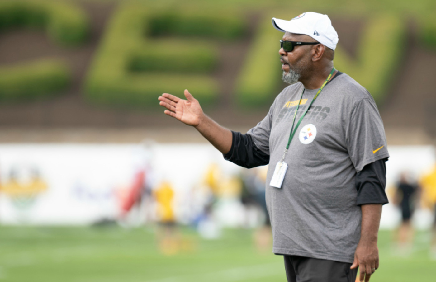 Pittsburgh Steelers Wide Receivers Coach Darryl Drake