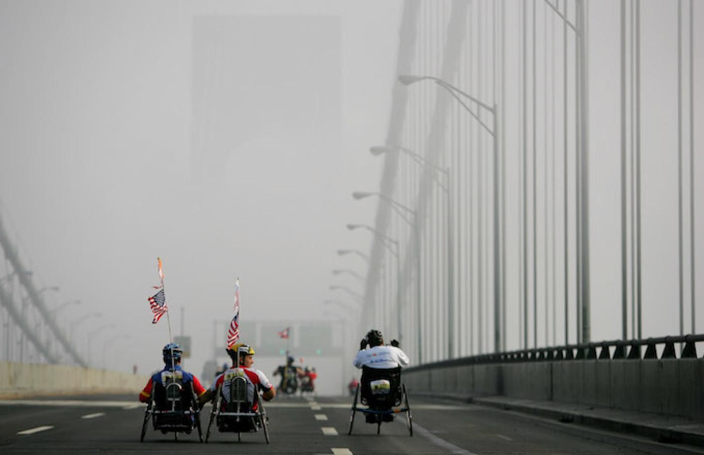 NYC Marathon Push Rim