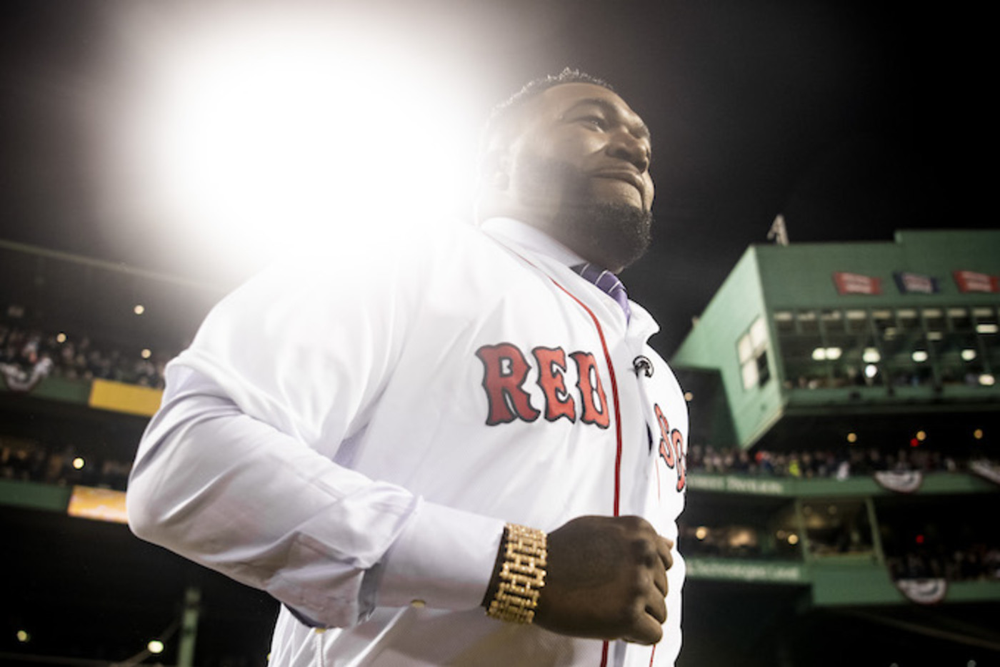 Former designated hitter David Ortiz of the Boston Red Sox.
