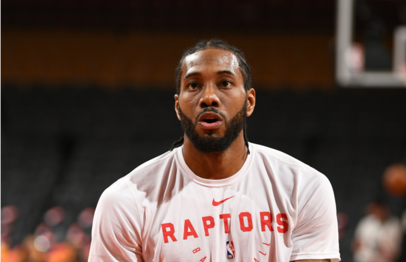 Kawhi Leonard #2 of the Toronto Raptors