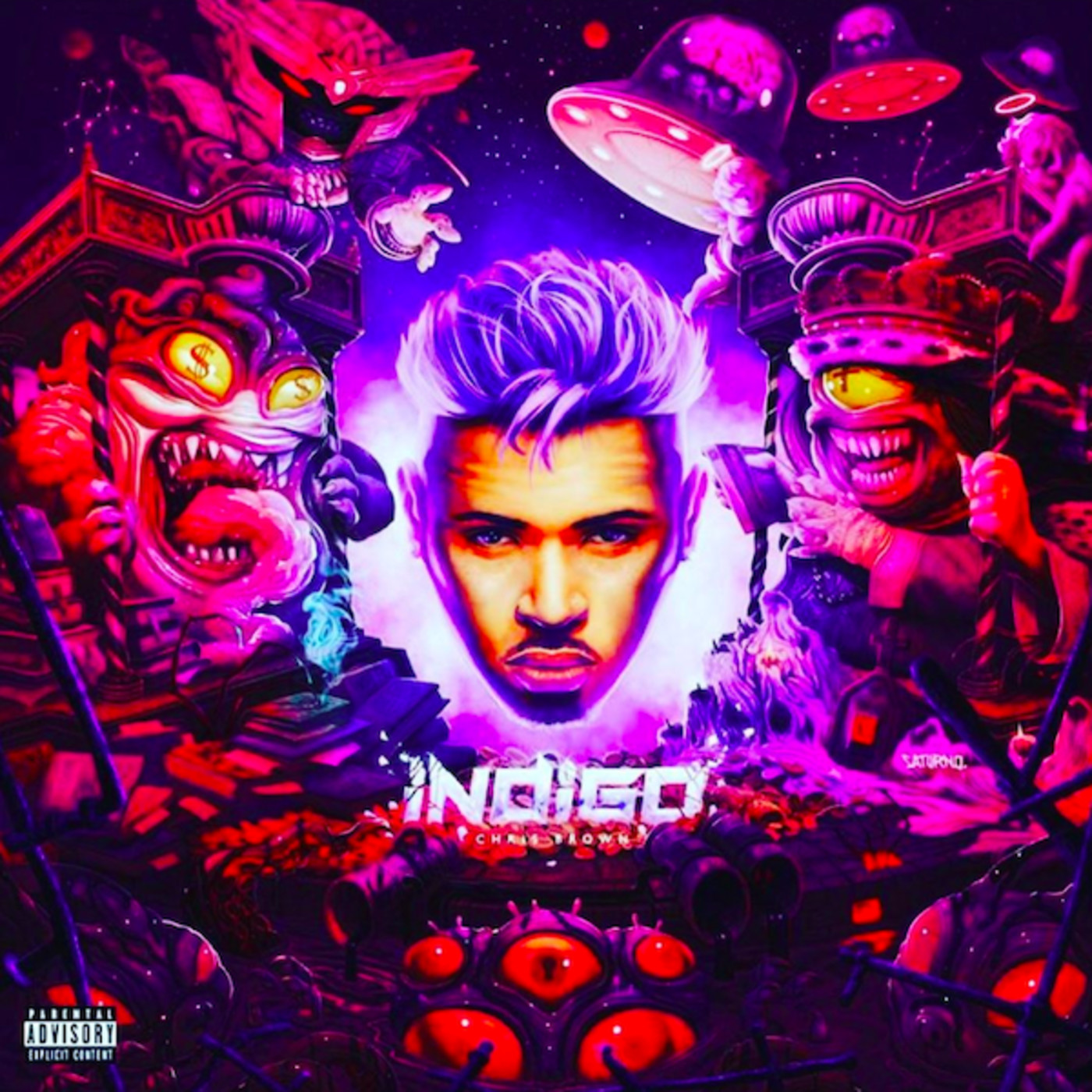 Chris Brown Shares Double-Disc Album 'Indigo'   Complex