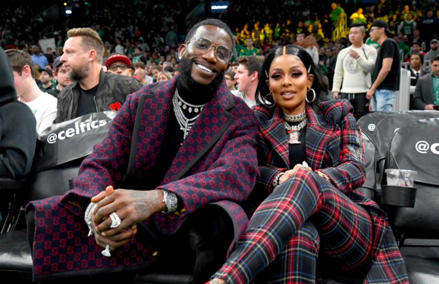 Celebrites, Gucci Mane, and Keyshia Ka'Oir