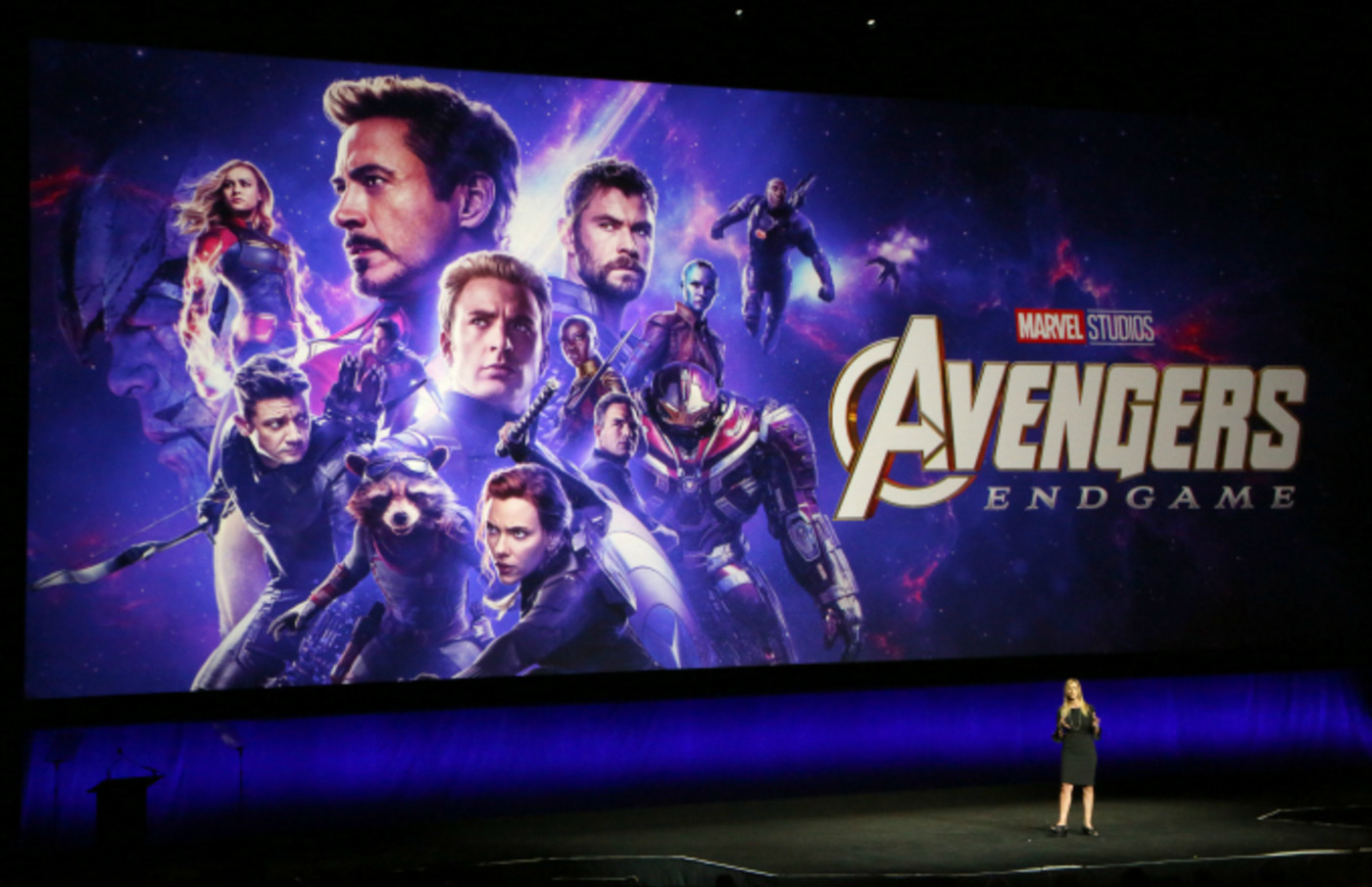 "Cathleen Taff talks about the upcoming movie ""Avengers: Endgame"""