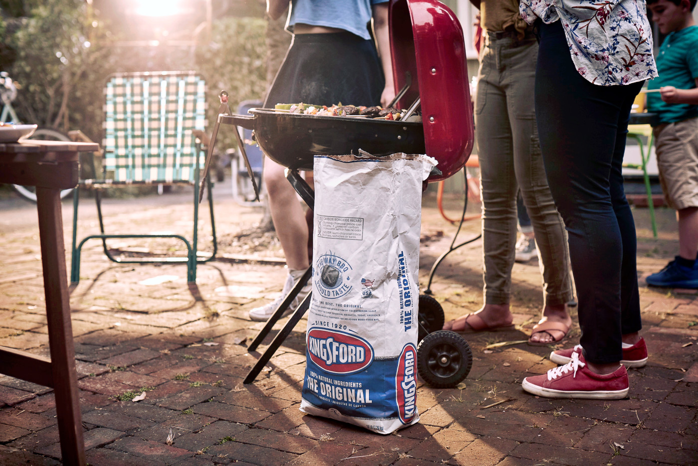 Kingsford Charcoal Fourth of July