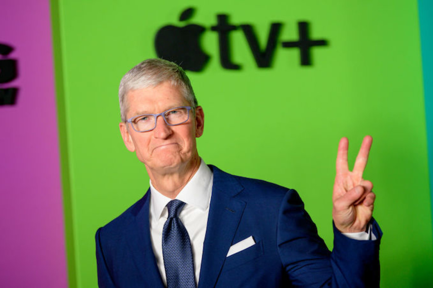 This is a picture of Tim Cook.