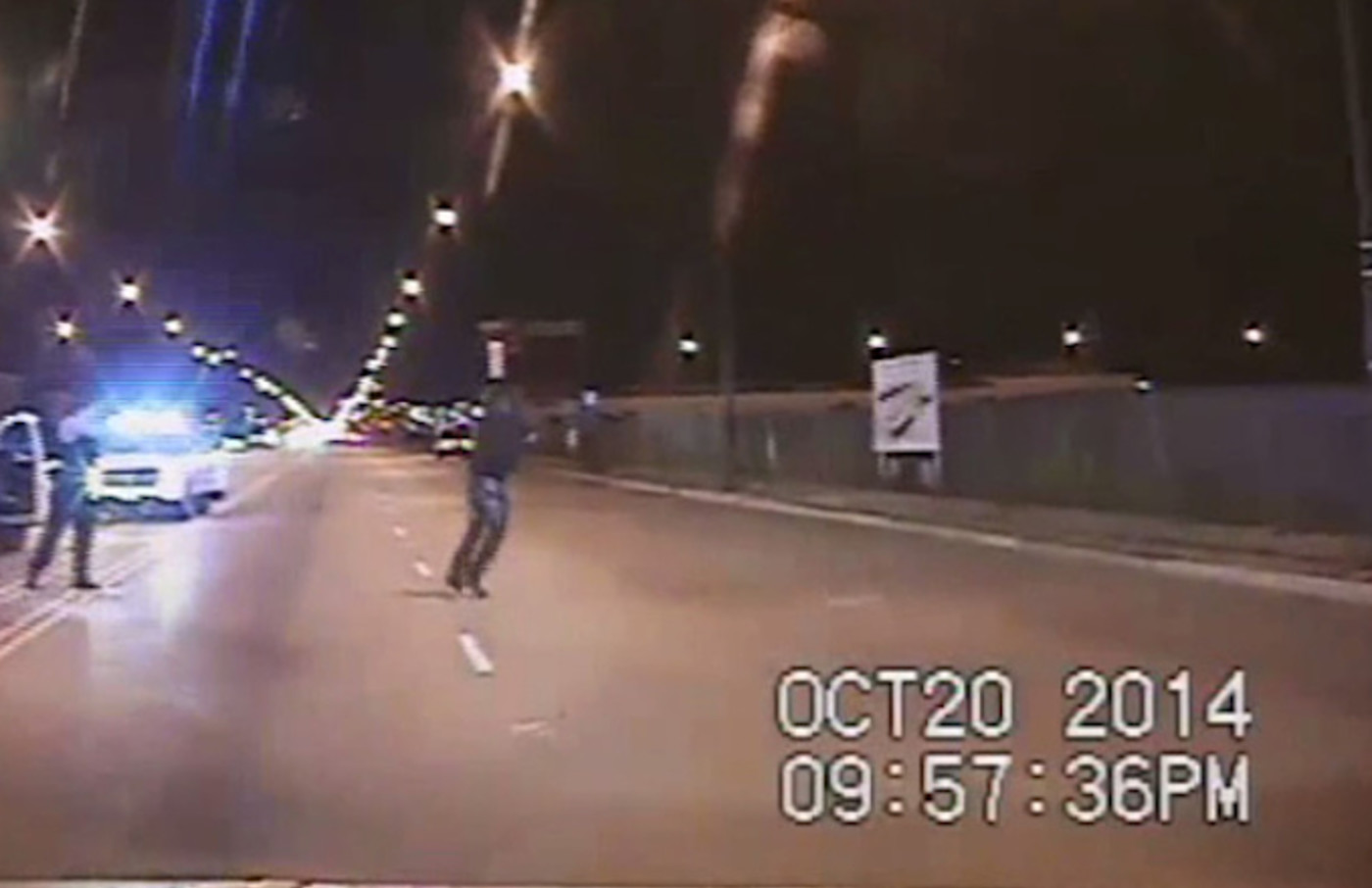 Chicago Police officer Jason Van Dyke shooting is shown shooting Laquan McDonald