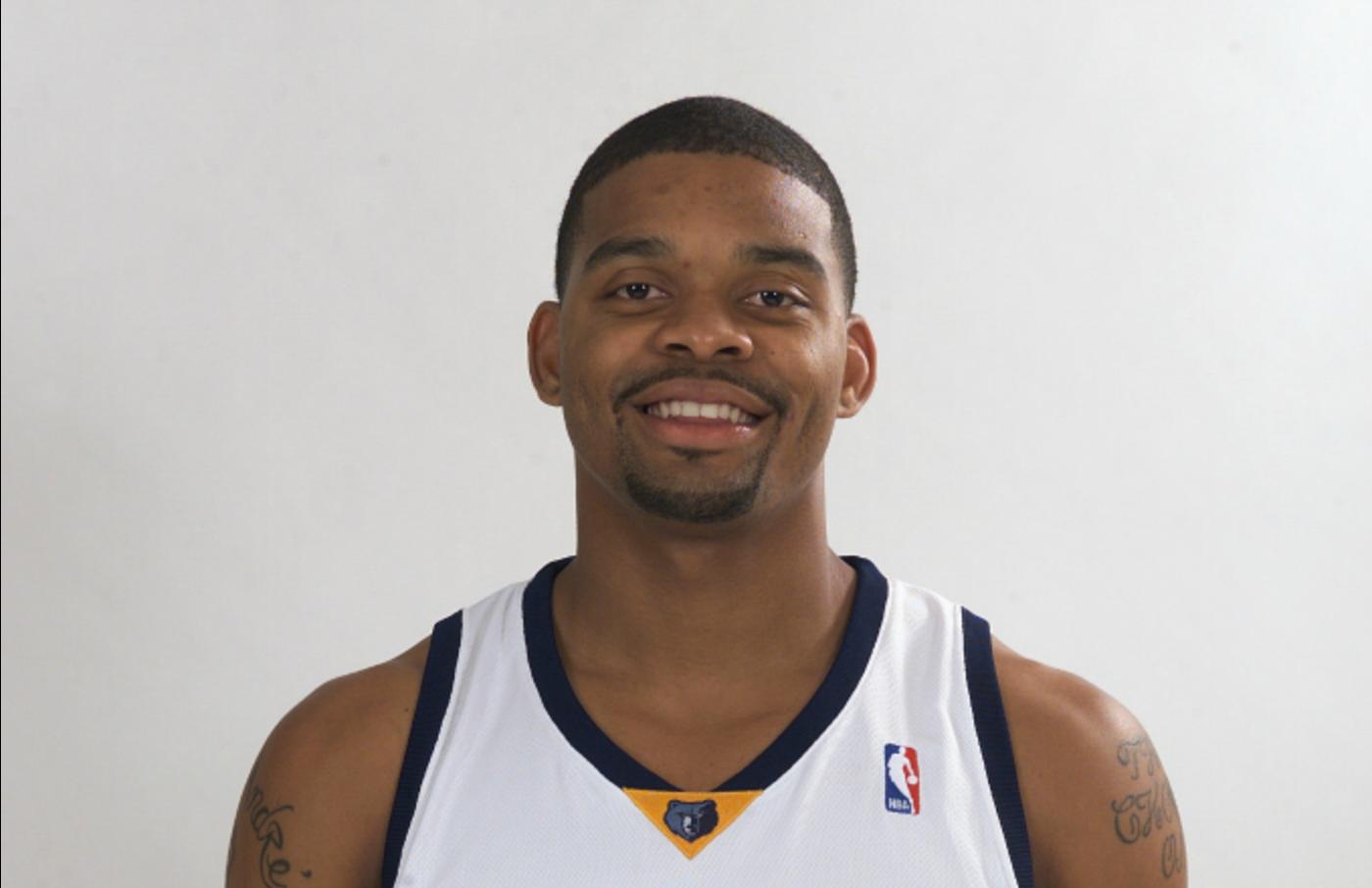 Andre Emmett, a 2004 draft picks of the Memphis Grizzlies