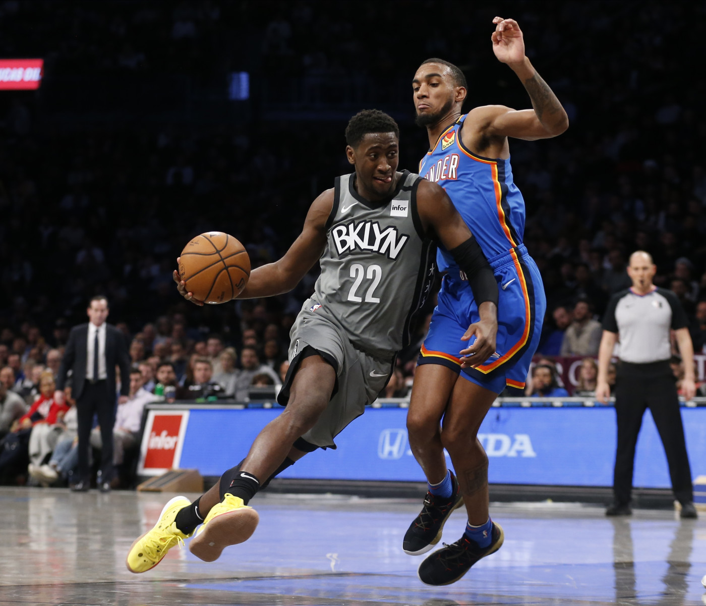 Caris LeVert Nets Thunder Brooklyn 2020