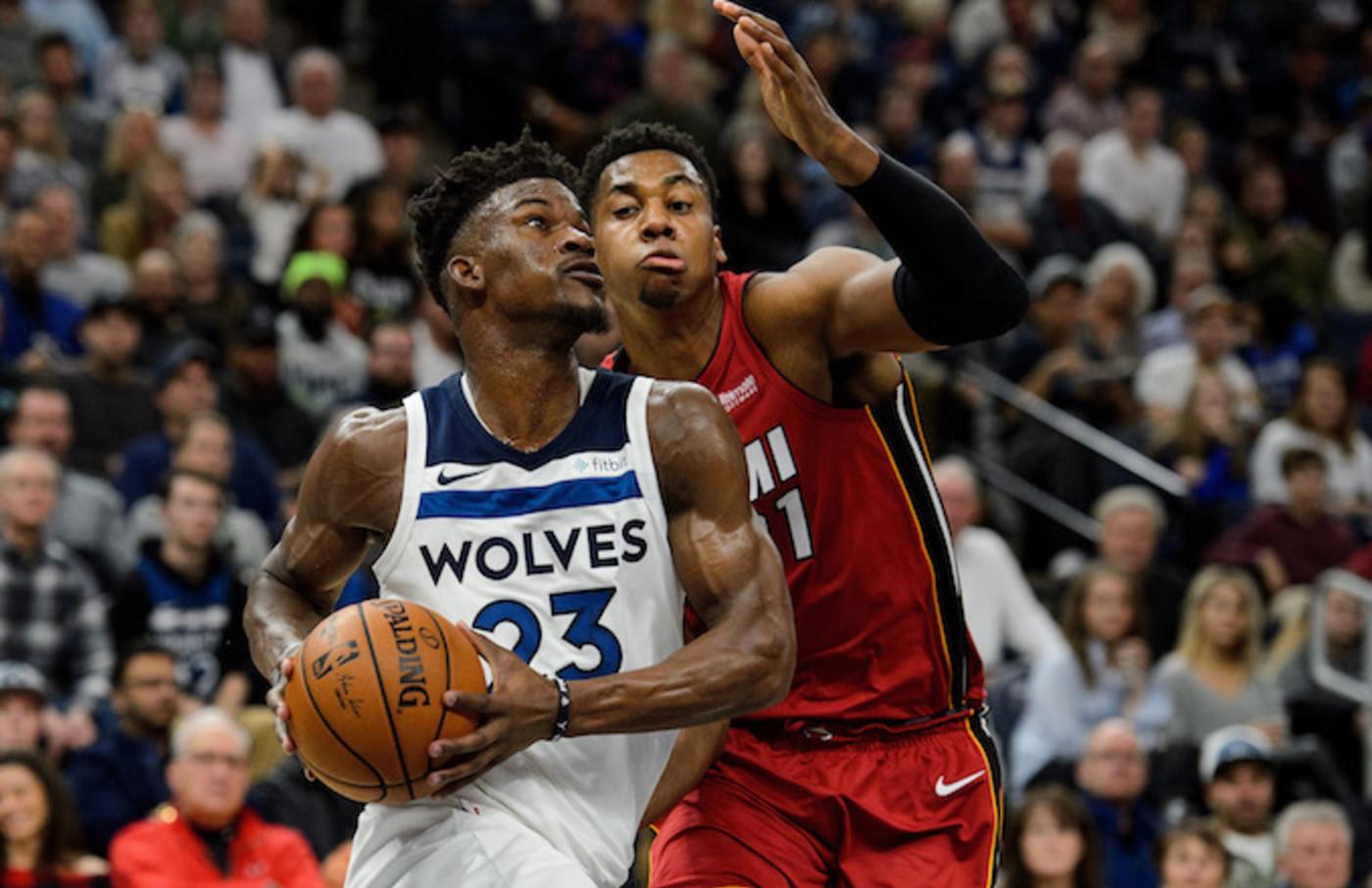 Report Jimmy Butler Tells Timberwolves He Wants Trade To Heat Complex