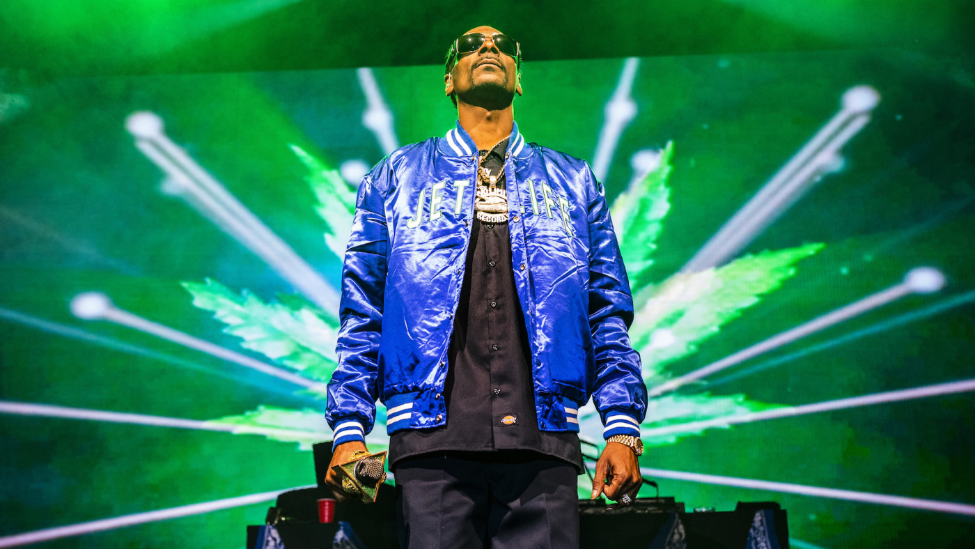 Snoop Dogg performs at The Fillmore New Orleans