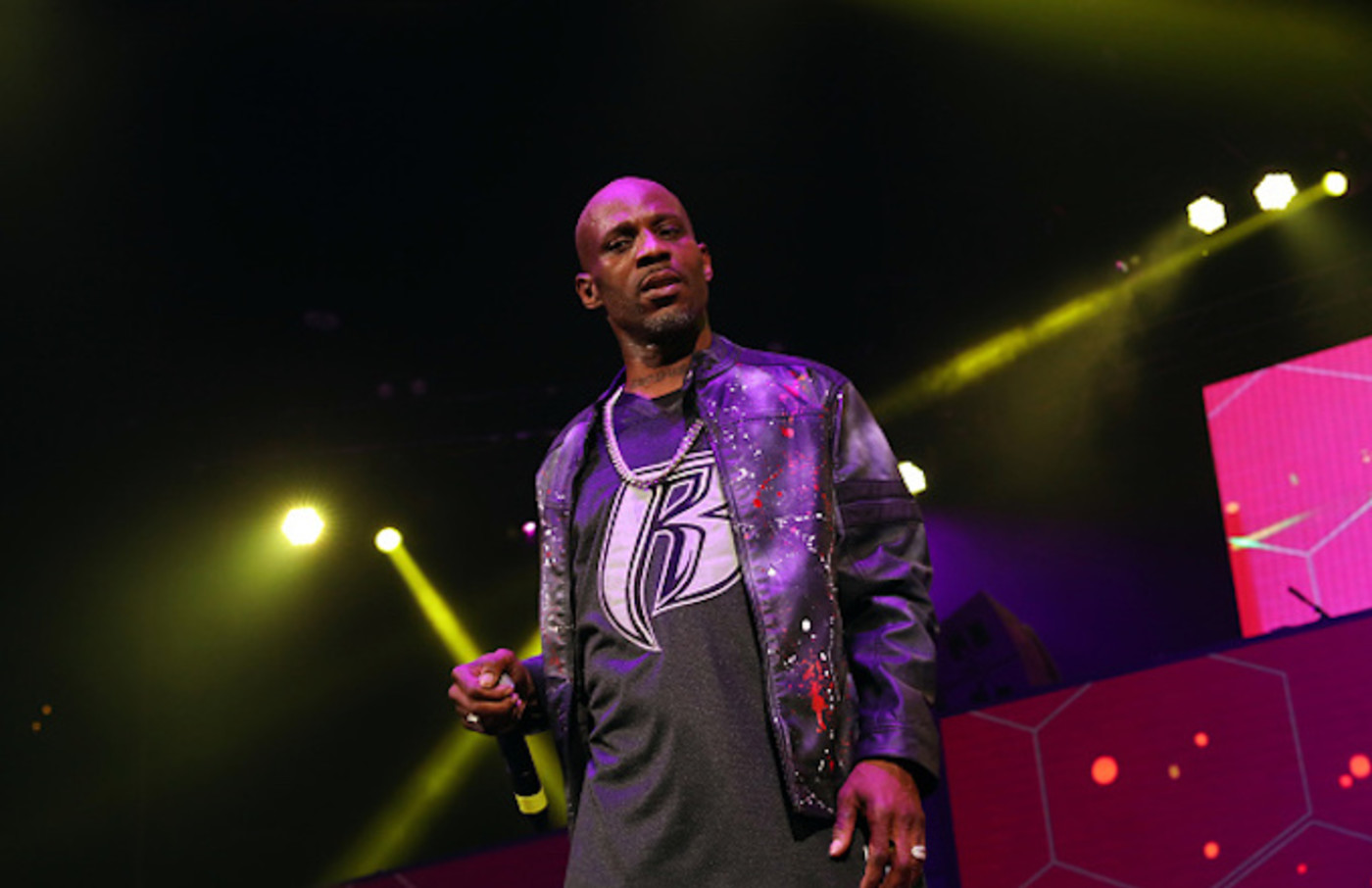 DMX performs during the Ruff Ryders Reunion Concert